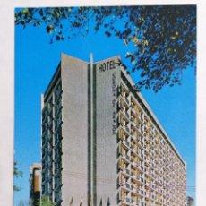 Postales: POSTAL ZARAGOZA, HOTEL CORONA DE ARAGON, AÑOS 60. Lote 244975940