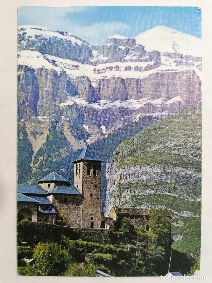 POSTAL TORLA, VALLE DE ORDESA, PIRINEO ARAGONES, IGLESIA PARROQUIAL, AÑOS 60 (Postales - España - Aragón Moderna (desde 1.940))