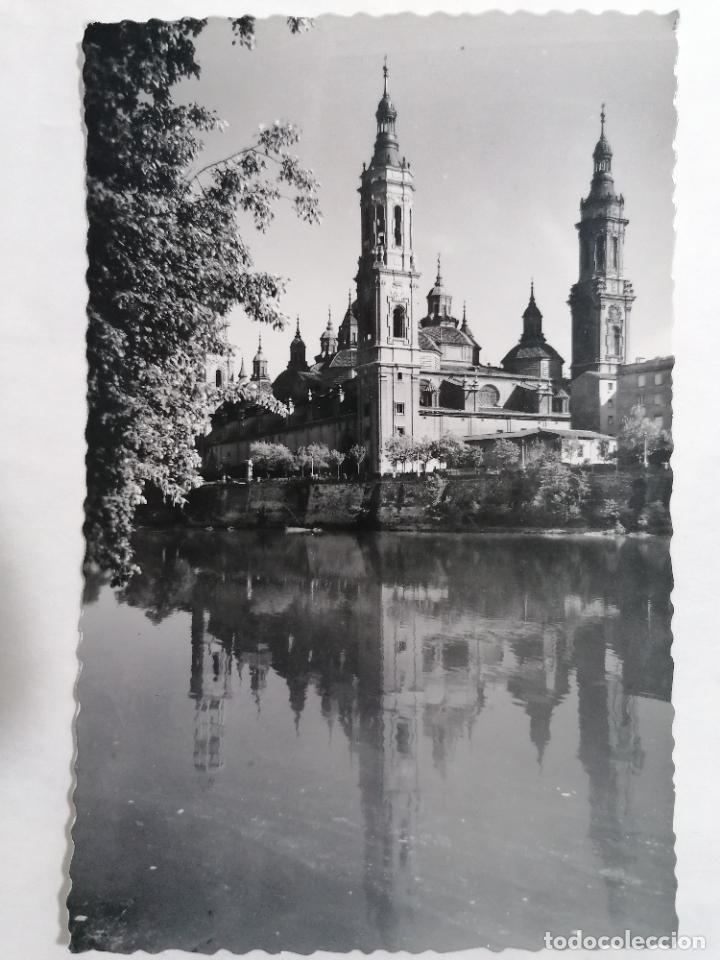 POSTAL ZARAGOZA, TEMPLO DEL PILAR, AÑOS 60 (Postales - España - Aragón Moderna (desde 1.940))