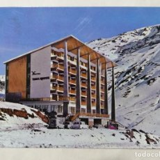 Postales: POSTAL HOTEL EDELWEISS, ESTACION INVERNAL, AÑOS 70. Lote 244980755