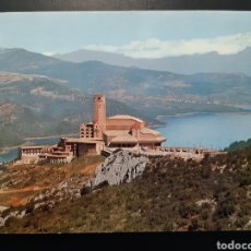 Postales: POSTAL DE. TORRECIUDAD. SANTUARIO VISTA GENERAL AL FONDO EL PIRINEO CENTRAL.. Lote 244990345