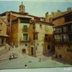 Postales: POSTAL ALBARRACIN PL.GENERALISIMO Y MURALLAS. Lote 245236080
