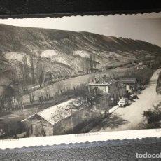 Cartes Postales: SABIÑANIGO , HUESCA , ESTACIÓN FERROCARRIL , FOTOGRÁFICA .. Lote 246132130