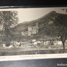 Postales: GRAUS , HUESCA , SANTUARIO VIRGEN DE LA PEÑA , FOTOGRÁFICA . EDICION LACAMBRA. Lote 246132870