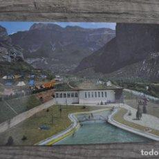 Postales: PRCIOSA POSTAL AÑOS 70.ORDESA CAMPING. Lote 246313415