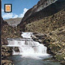 Postales: POSTAL ANTIGUA DE HUESCA. PARQUE NACIONAL DE ORDESA. Lote 246436030