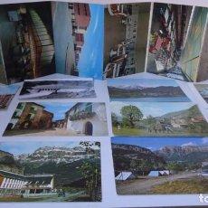Postales: LOTE 10 POSTALES ARAGON + LIBRO POSTALES CENTRO DE INSTRUCCIÓN DE RECLUTAS Nº10 ZARAGOZA. Lote 247558265