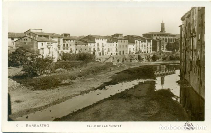 HUESCA. BARBASTRO. GRAN COLECCION DE MAS DE 700 POSTALES CINCO GRANDES ÁLBUMES. DESDE 1890. (Postales - España - Aragón Antigua (hasta 1939))