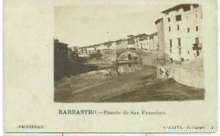 Postales: HUESCA. BARBASTRO. GRAN COLECCION DE MAS DE 700 POSTALES CINCO GRANDES ÁLBUMES. DESDE 1890. - Foto 2 - 248596605