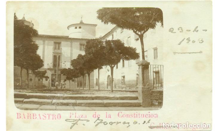 Postales: HUESCA. BARBASTRO. GRAN COLECCION DE MAS DE 700 POSTALES CINCO GRANDES ÁLBUMES. DESDE 1890. - Foto 3 - 248596605