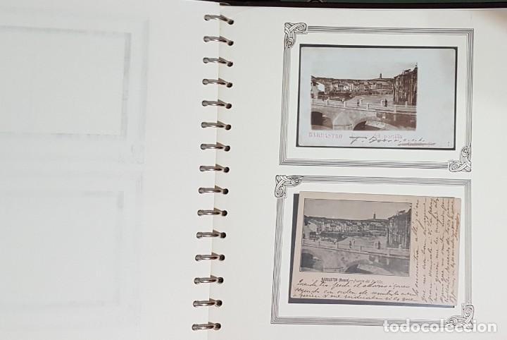 Postales: HUESCA. BARBASTRO. GRAN COLECCION DE MAS DE 700 POSTALES CINCO GRANDES ÁLBUMES. DESDE 1890. - Foto 5 - 248596605