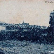 Postales: P-12444. HUESCA. VISTA GENERAL. AÑO 1921. CIRCULADA.. Lote 251281360