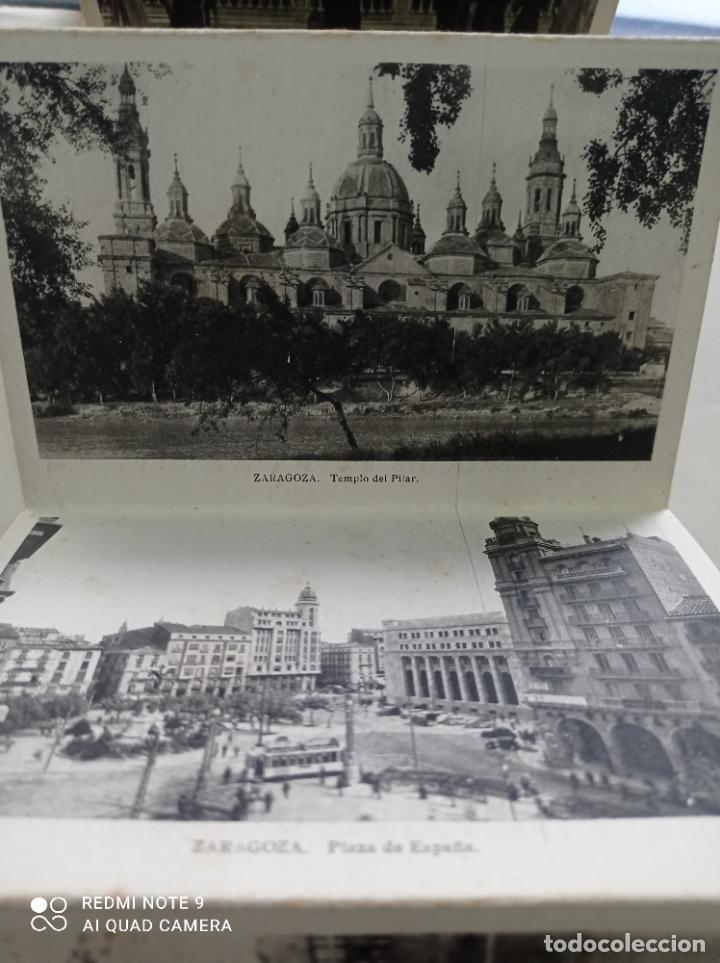 Postales: ZARAGOZA. BLOCK DE 10 POSTALES SEGUNDA SERIE. EDICIONES ARRIBAS, ZARAGOZA - Foto 3 - 252237610