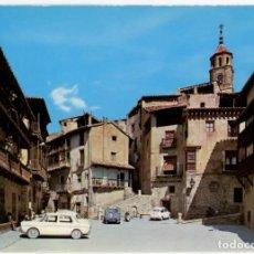 Postales: EM0393 ALBARRACIN PLAZA DEL GENERALISIMO 1967 ED SICILIA Nº6 SEAT 600 124 VESPA 2CV. Lote 253790555