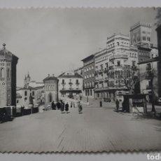 Postales: TERUEL 92 - EL OVALO Y TORRE DEL SALVADOR. EDICIONES SICILIA - ZARAGOZA.. Lote 253928020
