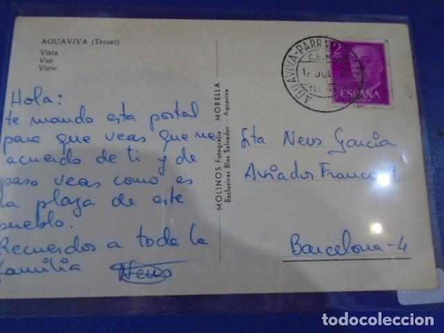 Postales: (PS-64958)POSTAL DE AGUAVIVA(TERUEL)-VISTA - Foto 2 - 254391285