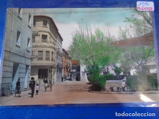 (PS-64959)POSTAL DE ARIZA-ENTRADA PLAZA HORTAL (Postales - España - Aragón Moderna (desde 1.940))