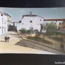 Postales: ALBALATE DEL ARZOBISPO. TERUEL. POSTAL COLOREDA. PLAZA DEL CONVENTO. Lote 254496840