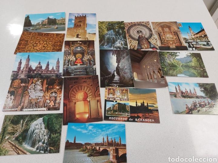 POSTALES DE ZARAGOZA AÑOS 70 (Postales - España - Aragón Moderna (desde 1.940))