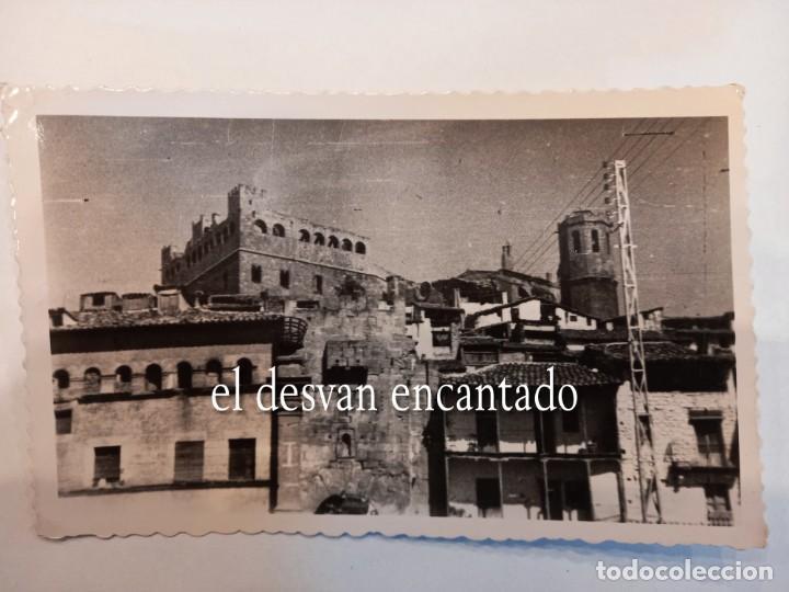 VALDERROBRES. ENTRADA PUENTE PIEDRA (Postales - España - Aragón Moderna (desde 1.940))