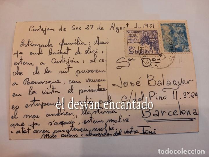 Postales: CASTEJON DE SOS. Panorámica. Villanueva y Pico de Posets - Foto 2 - 255408080