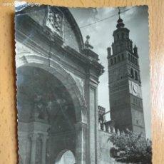 Postales: TARAZONA. ZARAGOZA. DETALLE DE LA CATEDRAL. ED. POSTALES VICTORIA Nº6.. Lote 255989625
