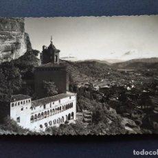 Postales: POSTAL GRAUS, SANTUARIO NTRA. SEÑORA VIRGEN DE LA PEÑA, HUESCA - AÑO 1956, EDC. SICILIA ... L3836. Lote 258990445