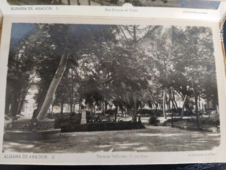 Postales: 10 POSTALES RECUERDO DE ALHAMA DE ARAGON ZARAGOZA, POSTAL - Foto 6 - 27548985
