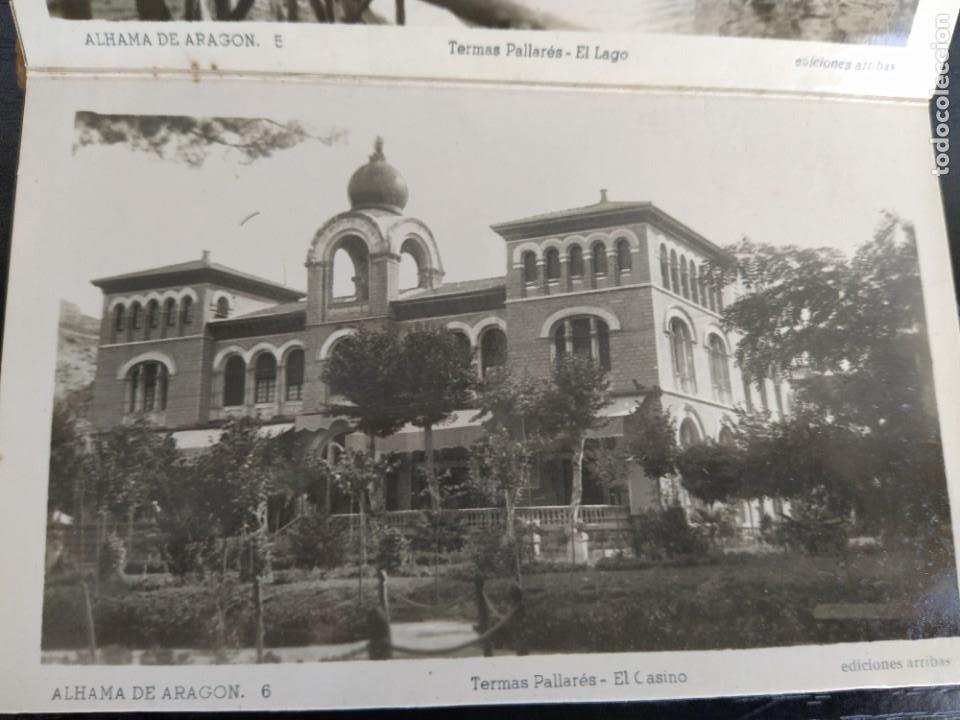 Postales: 10 POSTALES RECUERDO DE ALHAMA DE ARAGON ZARAGOZA, POSTAL - Foto 10 - 27548985