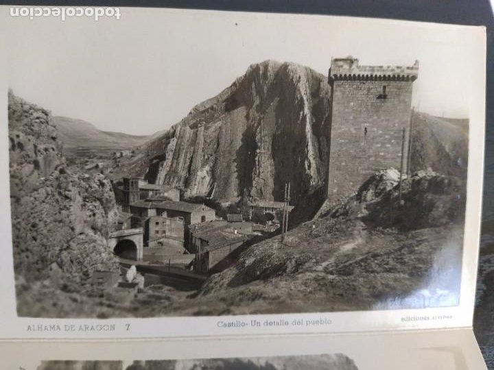 Postales: 10 POSTALES RECUERDO DE ALHAMA DE ARAGON ZARAGOZA, POSTAL - Foto 11 - 27548985