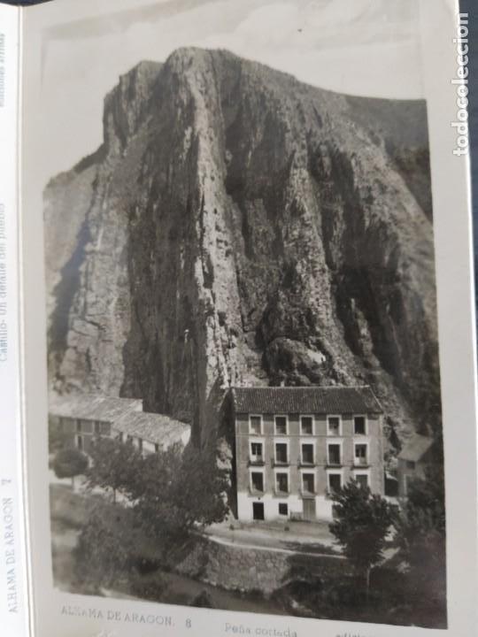 Postales: 10 POSTALES RECUERDO DE ALHAMA DE ARAGON ZARAGOZA, POSTAL - Foto 12 - 27548985
