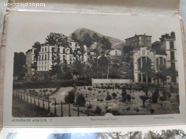 Postales: 10 POSTALES RECUERDO DE ALHAMA DE ARAGON ZARAGOZA, POSTAL - Foto 15 - 27548985