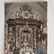 Cartes Postales: MUEL - ALTAR DE NUESTRA SEÑORA DE LA FUENTE - P50565. Lote 260753340