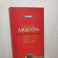 Postales: COLECCIÓN 150 POSTALES (ARAGÓN POSTALES PARA EL RECUERDO) EL PERIÓDICO REEDICIÓN - GOBIERNO ARAGÓN. Lote 261196225