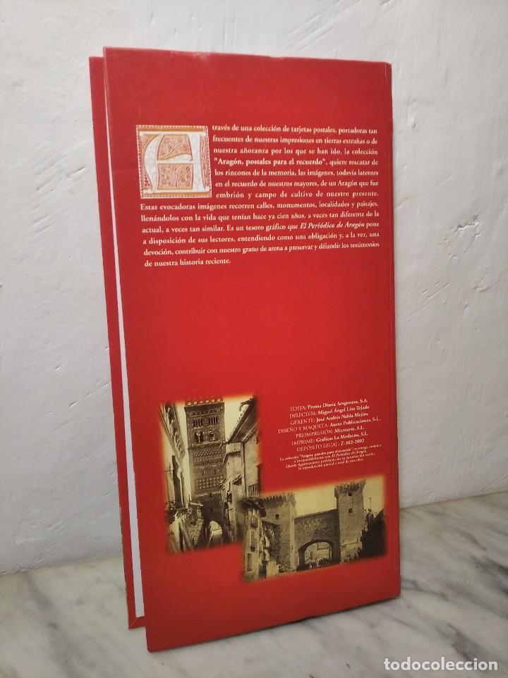 Postales: COLECCIÓN 150 POSTALES (ARAGÓN POSTALES PARA EL RECUERDO) EL PERIÓDICO REEDICIÓN - GOBIERNO ARAGÓN - Foto 2 - 261196225