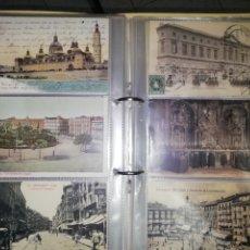 Postales: `ALBUM'`- 136 POSTALES. ZARAGOZA POSTALES PARA EL RECUERDO EL PERIÓDICO. Lote 261298295