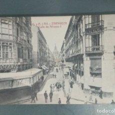 Postales: POSTAL 314 - ZARAGOZA. CALLE DE ALFONSO I. Lote 262308590
