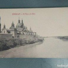 Postales: POSTAL - ZARAGOZA. EL PILAR Y EL RIO EBRO.. Lote 262308970