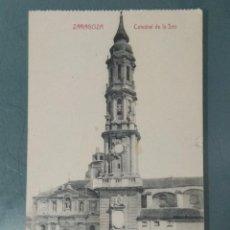 Postales: POSTAL - ZARAGOZA. CATEDRAL DE LA SEO.. Lote 262309160