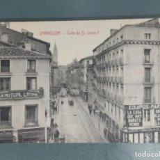 Postales: POSTAL - ZARAGOZA. CALLE DE D. JAIME I. Lote 262310375