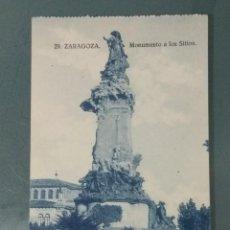 Postales: POSTAL 29 - ZARAGOZA. MONUMENTO A LOS SITIOS.. Lote 262312505