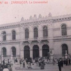Cartes Postales: ZARAGOZA. LA UNIVERSIDAD. SIN CIRCULAR. Lote 262411830