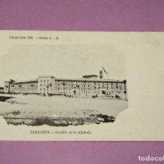 Cartes Postales: ANTIGUA TARJETA POSTAL DE ZARAGOZA - CASTILLO DE LA ALJAFERIA - COLECCIÓN SOL SERIE A.- 4. Lote 262439385
