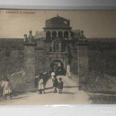 Postales: JACA , HUESCA , ARAGÓN , ENTRADA A LA CIUDADELA , FOTO DE LAS HERAS.. Lote 262588055