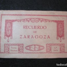 Postales: ZARAGOZA-BLOC CON 18 POSTALES ANTIGUAS-FOTO THOMAS-VER FOTOS-(80.638). Lote 262940485