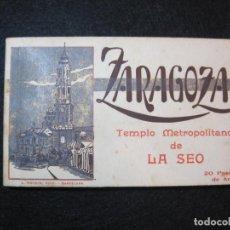 Postales: ZARAGOZA-BLOC CON 20 POSTALES ANTIGUAS-FOTO ROISIN-VER FOTOS-(80.639). Lote 262940710