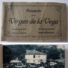 Postales: VIRGEN DE LA VEGA TERUEL FONDA MARÍA LORETO IZQUIERDO BLOQUE 19 ANTIGUAS POSTALES ED MUMBRÚ 20S. Lote 263732485