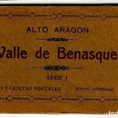Postais: ALTO ARAGÓN - VALLE DE BENASQUE - SERIE I - (15 NO) 11 TARJ. POST. FOTOS COMPAIRÉ - HAUSER Y MENET. Lote 264092275