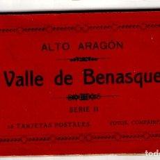 Postais: ALTO ARAGÓN - VALLE DE BENASQUE - SERIE II - (15 NO) 12 TARJ. POST. FOTOS COMPAIRÉ - HAUSER Y MENET. Lote 264092635