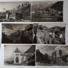 Postales: PIRINEOS ARAGONESES AÑOS 50-60 GARCIA GARRABELLA LOTE DE 6 FOTO POSTAL. Lote 265660524